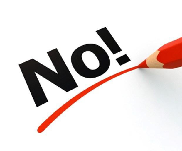 El coste de nunca decir no