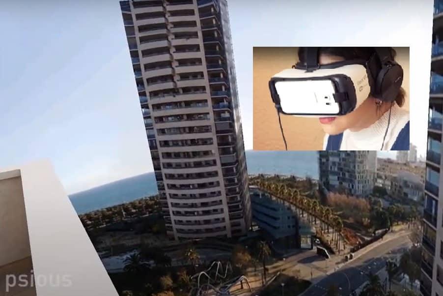 Entorno realidad virtual para el tratamiento del miedo a las alturas