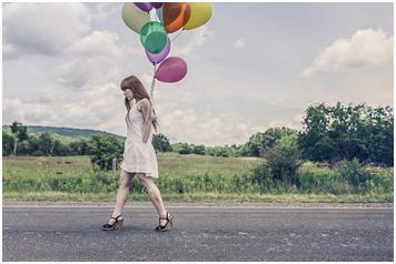 La gente feliz camina de un modo distinto a los demás