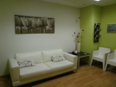 Sala espera de mi despacho de psicología en Palma de Mallorca